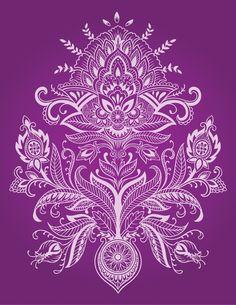 Folk Art Patterns from $47.99 | www.wallartprints.com.au #FolkArtPatterns #WallArtPrints