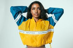 End of the year BLOWOUT SALE - Reconstructed Nautica Windbreaker