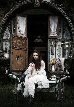 Boho Gypsy Wagon Beauty