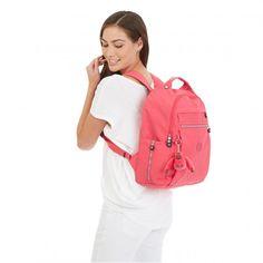 Kipling Micah Laptop Backpack - Vibrant Pink - Kipling #kipling #fashion #backtoschool #backpack