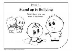 This printable anti bullying acrostic poem template can be