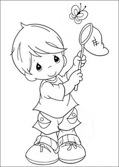 Precious Moments Coloring Pages. Welcome to the precious moments coloring pages! By the way, do you know what the precious moments coloring pages are? Dog Coloring Page, Alphabet Coloring Pages, Coloring Book Pages, Printable Coloring Pages, Free Coloring, Coloring Pages For Kids, Coloring Sheets, Baby Motiv, Precious Moments Coloring Pages