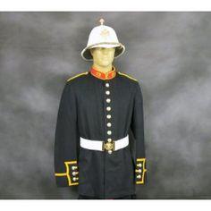 British Royal Marines Uniform Set & Sun Helmet
