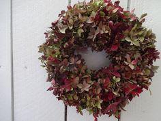 Hydrangea Wreath Dried Hydrangea Wreath Natural Wreath Dried Wreath Small Wreath Birhtday Gift Home Decor Birthday Gift by donnahubbard on Etsy Hydrangea Wreath, Floral Wreath, Candle Centerpieces, Candles, Small Wreath, Christmas Wreaths, Birthday Gifts, Display, Holiday Decor