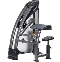 STAUS SERIE S-912 Biceps curl  - Extra tussen-gewichten 2x 1.5 Kg instelbaar - Ergonomische handgrepen - Zitting is in hoogte verstelbaar en gasveer ondersteund