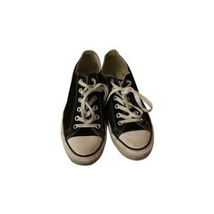 Converse Chuck Taylors Chucks Sneakers Black Athletic Shoes (34 AUD) ❤ liked on Polyvore featuring shoes, sneakers, black shoes, converse shoes, black trainers, converse trainers and converse footwear
