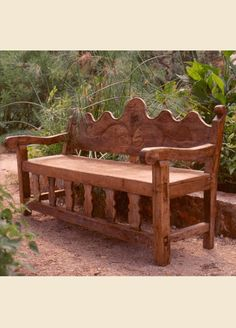 Genial Custom Made Mexican U0027Colonial Styleu0027 Bench By Hacienda Style, Joe P. Car