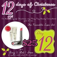 Mary Kay 12 Days of Christmas