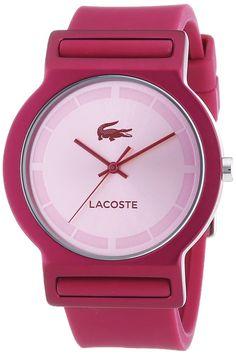 LACOSTE TOKYO Hazte con tu #reloj Lacoste Tokyo, un reloj con caja de aluminio y correa de goma, ideal para lucir este #verano: http://www.todo-relojes.com/detalle.asp?codigo=27969 #Lacoste #relojesdecolores