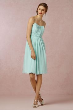 Giselle Bridesmaids Dress from BHLDN in mint mist