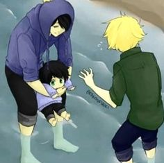 Craig and tweek (creek) with their little baby