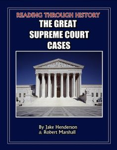 This is the complete Supreme Court unit by Reading Through History.  Included in this download are 166 pages worth of student activities.