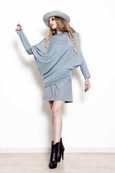 """Ecco """"Katia"""", elegante e delicata maglia in lana merinos e seta"""