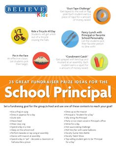 25 School Principal Contest & Fundraising Incentives