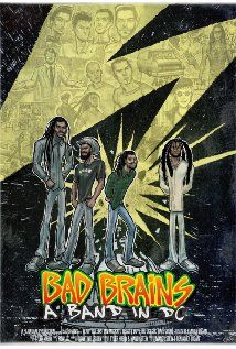 Bad Brains: A Band In DC - well-deserved, but missed opportunity in this documentary film tribute.  i wish the focus would have been more on the music and the movement instead of HR's behavior. #damnshame