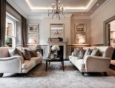 50 Classy Traditional Living Room Designs - 2020 Home design Best Living Room Design, Classic Living Room, Elegant Living Room, Elegant Home Decor, Formal Living Rooms, My Living Room, Interior Design Living Room, Living Room Designs, Living Room Decor