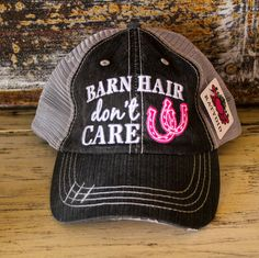 Barn Hair Trucker Hats
