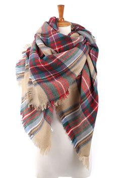 Tartan Plaid Casual & Classy Scarf || from Genuine People