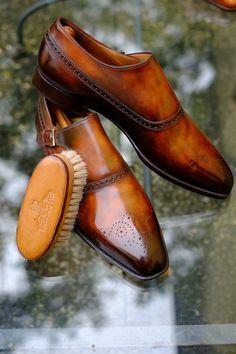 """On Her Majesty's Secret Service-Berluti Edition"" by Alexander Nurulaeff.  Berluti shoes? | Essentials (men's accessories)"