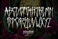 A good offensive type No more Mr Nice is part of Horror font - Graffiti Alphabet Styles, Graffiti Lettering Alphabet, Tattoo Fonts Alphabet, Chicano Lettering, Graffiti Font, Tattoo Lettering Styles, Hand Lettering Fonts, Lettering Tutorial, Handwriting Fonts
