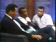 Arsenio Hall Show  Muhammad Ali  Sugar Ray Leonard  Mike Tyson