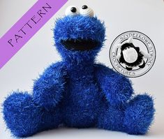 Cookie Monster crochet pattern