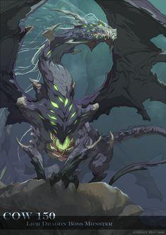 Lich Dragon by nJoo.deviantart.com on @deviantART