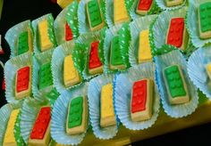 going to make these for my 6yr olds party but stack them to make a cookie lego cake!
