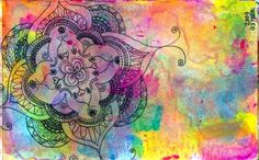 Watercolor and Doodle by Tammy