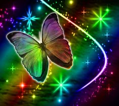 Unicorns Rainbows and Butterflies Background | Rainbows And Butterflies 6 butterflies international