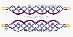 Navajo Beaded Bracelet Patterns with Jewellery Online Price its Art Deco Beaded Jewelry Patterns yet Beaded Bracelet Clasp Ideas Beaded Bracelets Tutorial, Beaded Bracelet Patterns, Handmade Bracelets, Bracelet Designs, Peyote Bracelet, Handmade Wire, Beaded Earrings, Beading Patterns Free, Beading Tutorials