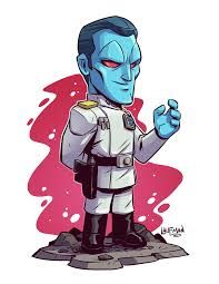 May is coming! Get ready for all new Star Wars prints and a big site wide sale! Star Wars Tattoo, Star Wars Rebels, Thrawn Star Wars, Grand Admiral Thrawn, Chibi Marvel, Dibujos Anime Chibi, Star Wars Drawings, Star Wars Prints, Anime Characters