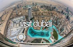 .Dubai is incredible with its man-made islands and incredible buildings. Two reasons why I added it to my bucket list.