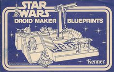 Kenner Droid Maker Blueprints Kenner Star Wars Droid Factory Blueprints Front Cover (My latest eBay purchase)