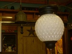 Beautiful Vintage Pendant Hanging Light by AthensRelight on Etsy, $70.00