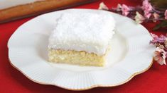The Best Moist Custard Cake Recipe - It is such a magical combination of the custard and the cake that it is a melt-in-your-mouth soft and creamy dessert. Custard Cake, Cooking Videos, Easy Cake Recipes, Vanilla Cake, Cheesecake, Good Things, Desserts, How To Make, Food