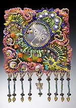inspiring bead journal pages from the Bead Journal Project