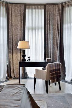 Стильный интерьер дома в Подмосковье | Пуфик - блог о дизайне интерьера