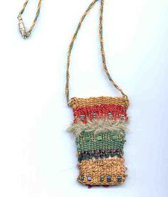 Woven amulet