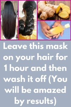 Leave this mask on your hair for 1 hour and then wash it off (You will be amazed by results) This is the most requested remedy. Most of the users have asked the same question again and again My hair is falling too much, what should I do to promote hair growth This one herb can answer all your hair problems and that is Ginger How to use ginger for hair growth Take a fresh …