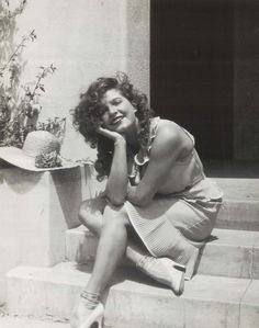 Lili Damita, French actress of the 1920's and 30's; married Errol Flynn and had one son with him; she died at the age of 89