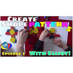 Learn how to make patterns with our step by step tutorial. Discover our top tips for best math learning for kids practices with us - http://www.myabcdad.com/make-patterns-kids/