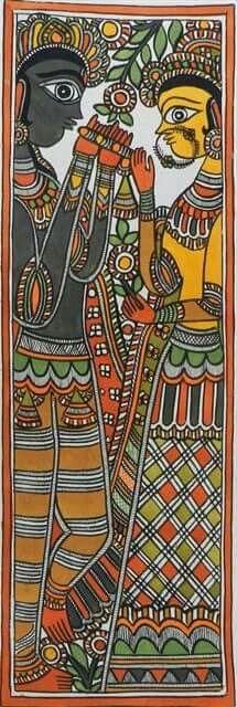 Madhubani bookmarks 21