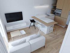 Studio Apartments In Three Modern Styles