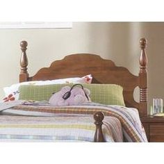 August Grove Rivera Poster Panel Headboard & Reviews | Wayfair Queen Headboard, Panel Headboard, Panel Bed, Pine Bedroom Furniture, Carolina Furniture, One Bedroom, Home And Garden, Home Decor, Poster