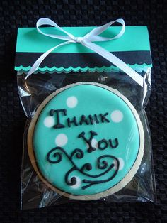 Packaged Thank You by SweetStacey's, via Flickr