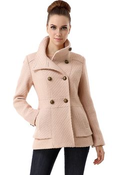 Shop a great selection of BGSD Women's Cheri Wool Blend Boucle Coat. Find new offer and Similar products for BGSD Women's Cheri Wool Blend Boucle Coat. Blush Outfit, Boucle Coat, Stylish Coat, Double Breasted Coat, Coats For Women, Wool Blend, Autumn Fashion, Clothes, Fall Coats