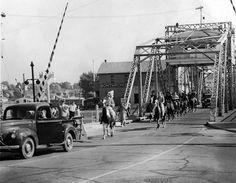 Venetian Festival Saturday Parade - ca. Lake Huron, Social Activities, Historical Society, Historical Photos, Venetian, 1930s, Past, Street View, History