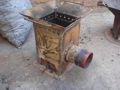 rocket stove dimensions - Google Search