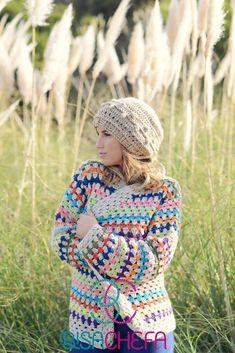 Jules Supervielle, Knit Crochet, Crochet Hats, Crochet Clothes, Crochet Projects, Winter Hats, Clothes For Women, Knitting, Sweaters